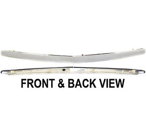 Acura on 04 08 Acura Tl Front Bumper Hood Grille Upper Chrome Moulding Trim New