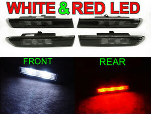 2007 Acura Type on 04 08 Acura Tl Smoke White Red Led Side Marker Type S   Ebay