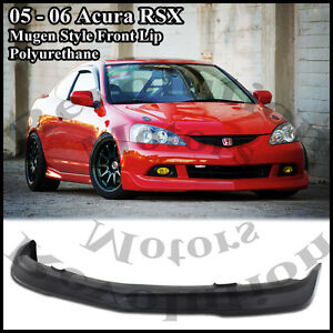 2005 Acura  Type on Type On 05 06 Acura Rsx Dc5 Mugen Style Front Bumper Lip Pu Jdm Type S