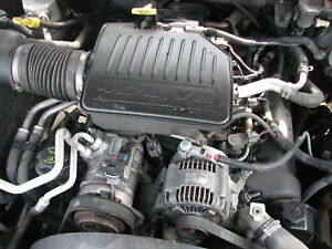 05 07 dodge dakota engine motor 4 7 durango v8 ebay. Black Bedroom Furniture Sets. Home Design Ideas