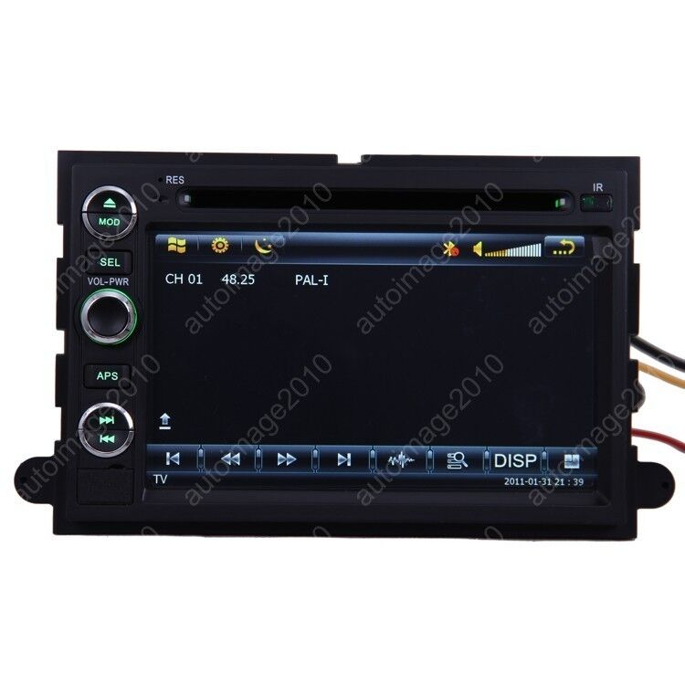 05 09 Ford Mustang Car GPS Navigation Radio TV Bluetooth USB  iPod