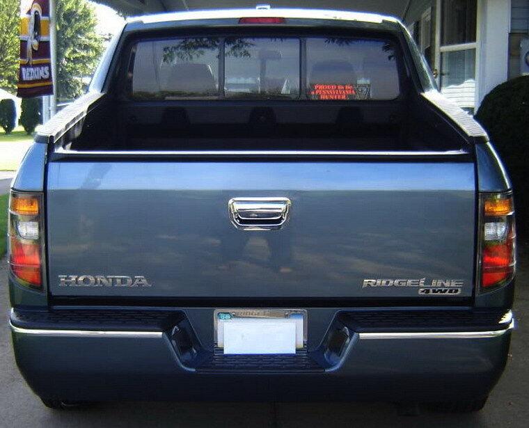 06 07 08 09 10 11 12 Honda Ridgeline Pickup Chrome Tailgate Handle Cover Bezel
