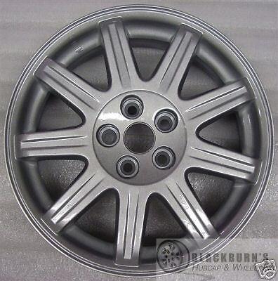 """06 07 08 09 10 Chrysler PT Cruiser 16"""" Silver 9 Spoke Wheel Factory Rim 2270"""
