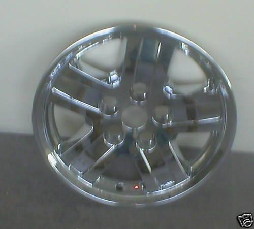 06 07 08 Dodge Durango Chrome Wheel Skins 18 In