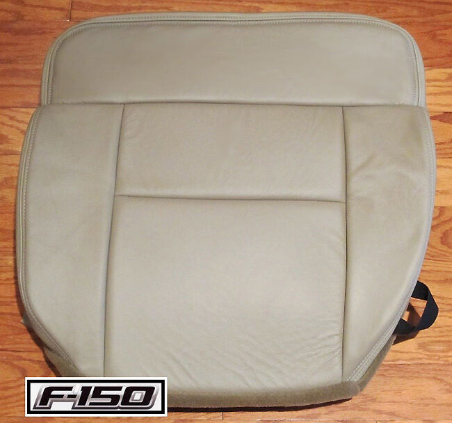 08 Ford F150 Lariat FX4 Supercrew 4x4 Driver Bottom Leather Seat Cover