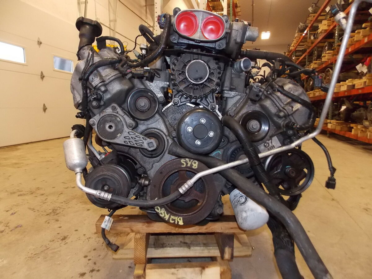 07 08 Ford Mustang 4 6L Engine Motor 5 Speed Transmission Dropout 56K Drop Out