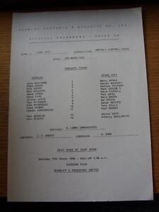 08-03-1990-Burnley-Reserves-v-Stoke-City-Reserves-Single-Sheet