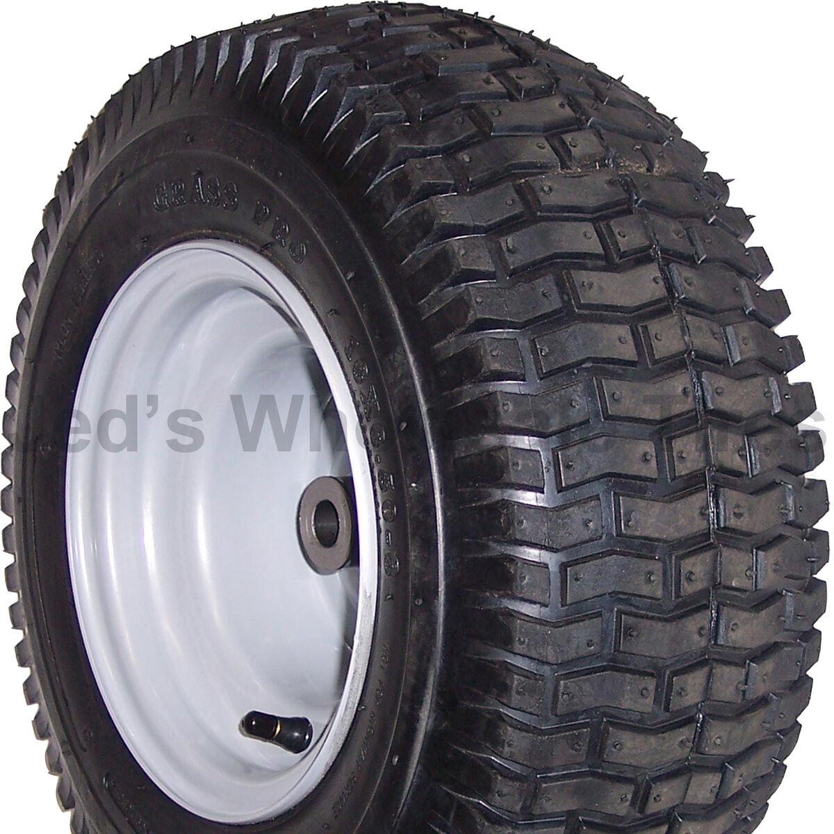 1 16x6 50 8 16 6 50 8 Riding Lawn Mower Garden Tractor Tire Rim Wheel Assembly