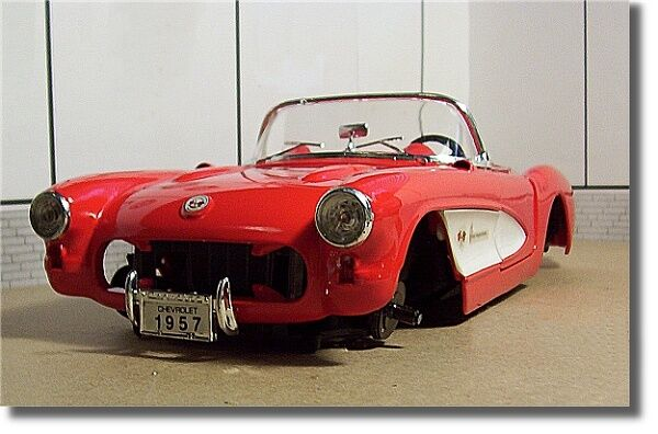 1:18 1957 CHEVROLET CORVETTE PARTS/PROJECT/JUNK CAR | eBay