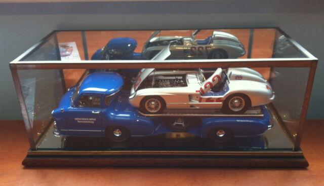 1 18 Cmc Mercedes Benz 1954 Renntrasporter Glass Display