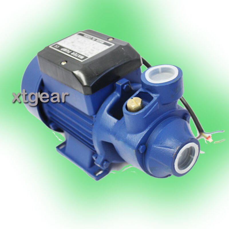 1 2 hp electric water pump pool farm pond biodiesel ebay for Small garden pond water pumps