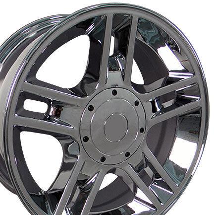 "1 20"" Chrome Ford F150 Harley Edition Replica Wheels Rims 20x9 1997 2003"