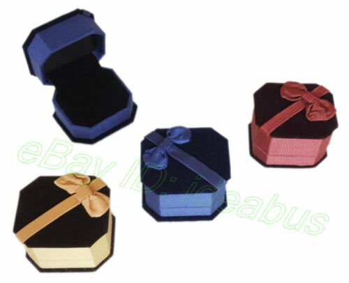 "1/3/6/12/PCS VELVET BOXES For Jewelry Ring Gift Box 2.5L"" x 2W"" x 1.75H"" AH049 in Jewelry & Watches, Jewelry Boxes & Organizers, Jewelry Boxes 
