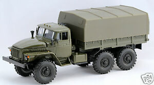 43 diecast russian soviet military truck ural 4320 with tent ussr