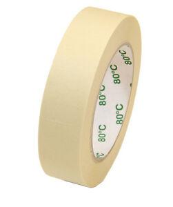 1-48-Rollen-Klebeband-Abdeckband-Abklebeband-Malerkrepp-Kreppband-19-30-50mm