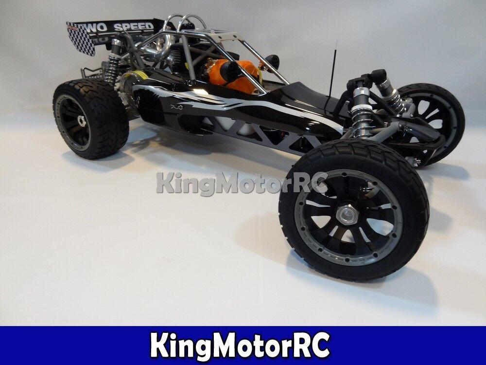 1 5 Scale 30 5cc Gas Rev 2 Speed King Motor Desert Buggy HPI Baja 5B Compatible