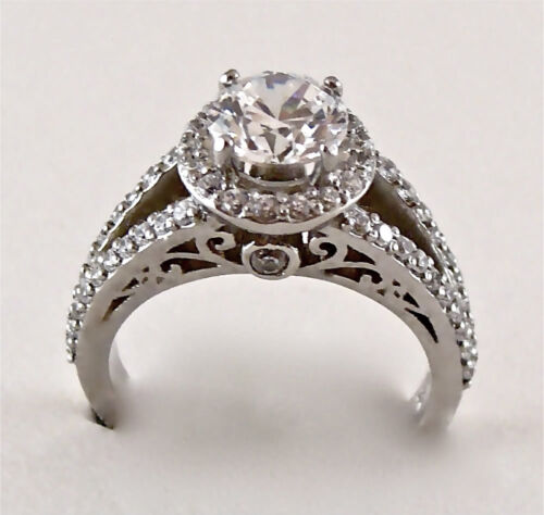 1.55CT ROUND CUT ENGAGEMENT RING 14K GOLD NO RESERVE in Jewelry & Watches, Engagement & Wedding, Engagement Rings | eBay