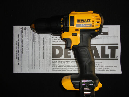 (1) DEWALT DCD780 20V 20 VOLT LITHIUM ION CORDLESS DRILL DRIVER NEW BARE TOOL in Home & Garden, Tools, Power Tools | eBay