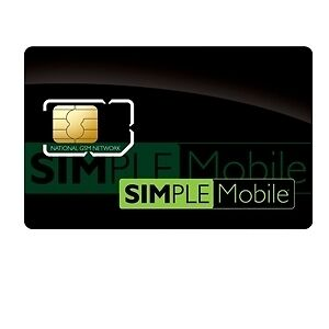 1 NEW Simple Mobile 4g SIM Card unlimited talk text web in Cell Phones & Accessories, Phone Cards & SIM Cards, SIM Cards | eBay