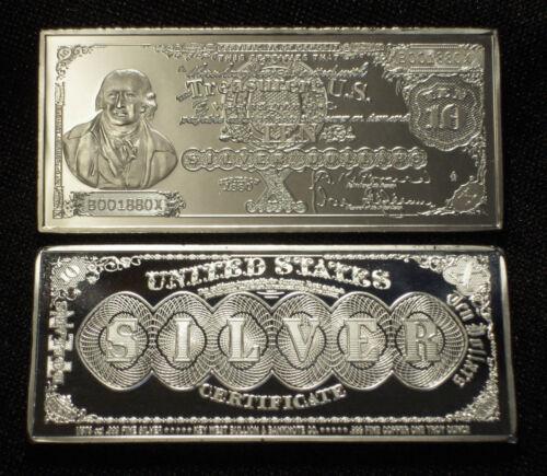 1 Oz Quot 1880 Series 10 Morris Silver Certificate Quot 999