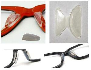 1-Paar-2-Stueck-Nasenpad-zum-Aufkleben-3M-Silikon-Wing-fuer-Kunststoffbrillen