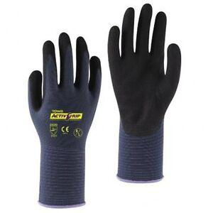 1-Paar-TOWA-ActivGrip-Advance-Handschuhe-Arbeitshandschuhe-Montagehandschuhe