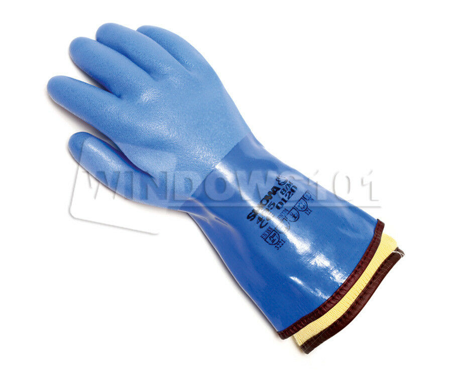 1 Pair Atlas Showa 495 Cold Amp Oil Resistant Work Gloves W