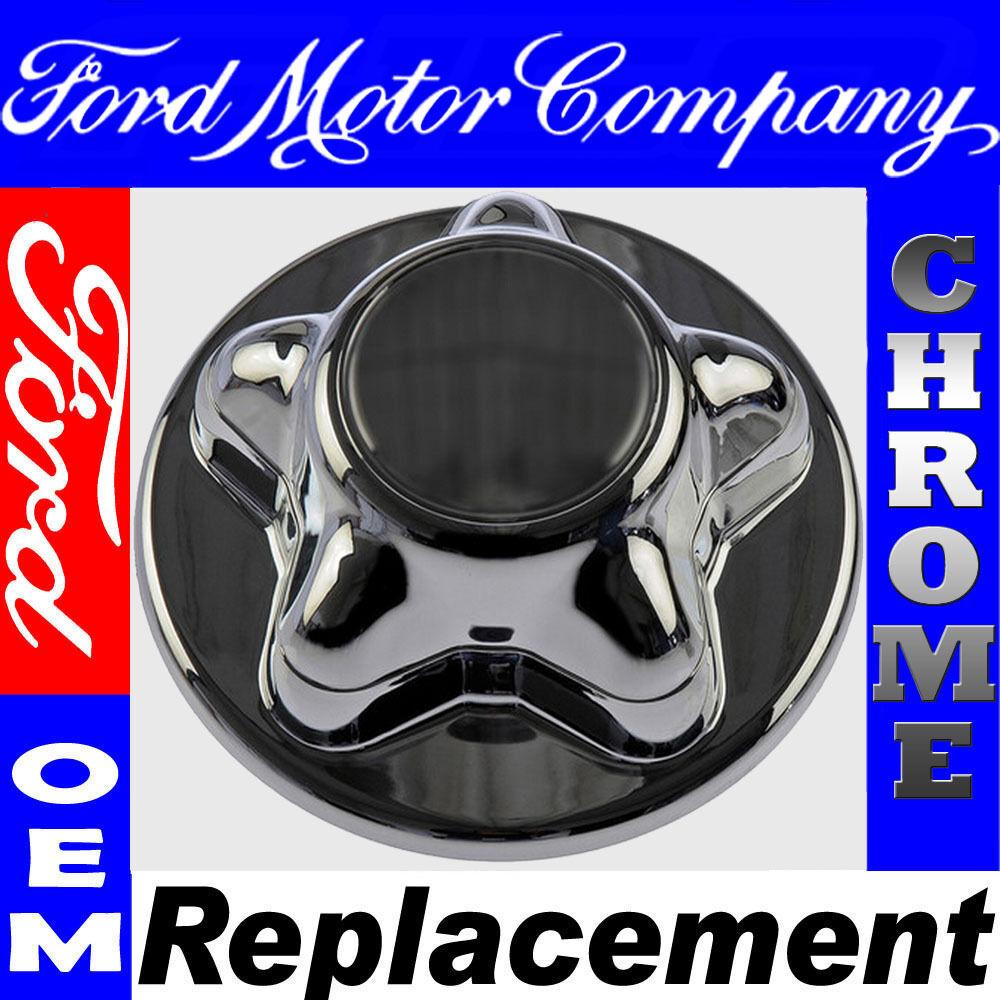 Ford CHROME Wheel Center Hub Caps Rim Covers 5 Lug Steel Alloy Wheels