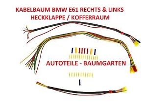 1 satz reparatursatz kabelbaum kabel bmw 5er e61. Black Bedroom Furniture Sets. Home Design Ideas