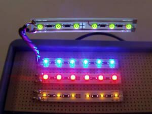 1-St-Leuchtfeld-60x8x1mm-blaue-LED-s-Ub12V-E0152