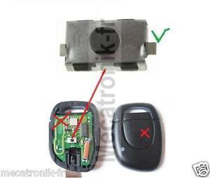 1 takt schalter f r renault clio schl ssel fernbedienung. Black Bedroom Furniture Sets. Home Design Ideas