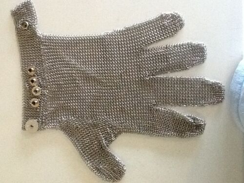 1 US Mesh Stainless Steel Mesh Safety Chain Glove - LARGE in Business & Industrial, Industrial Supply & MRO, Safety & Security | eBay