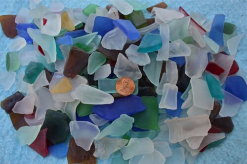 1 lb. Mixed Beach Glass Tumbled Glass Frosted Glass Mixed Colors SEE PHOTOS in Crafts, Glass & Mosaics, Beach Glass - Surf-Tumbled | eBay