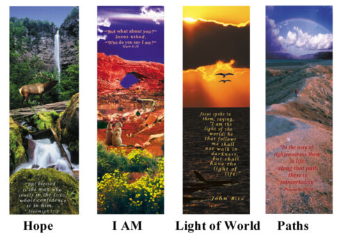1 lot of 25 Artistic inspirational Christian gift tracts with Bible verse in Books, Accessories, Bookmarks | eBay