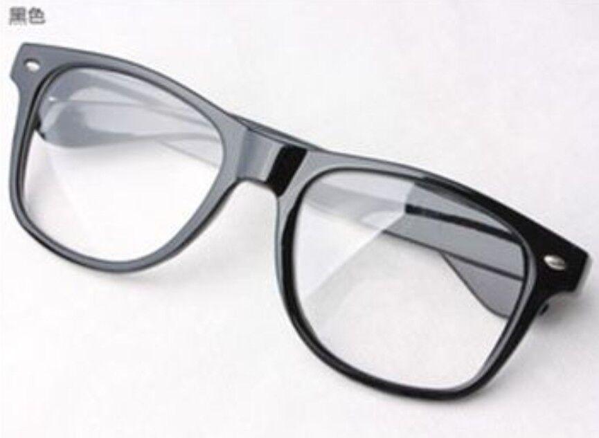 Black Geek Glasses