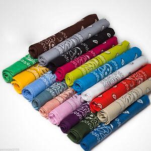 1-x-Bandana-Tuch-versch-Farben-100-Baumwolle-Kopftuch-Halstuch-Nickituch-Schal