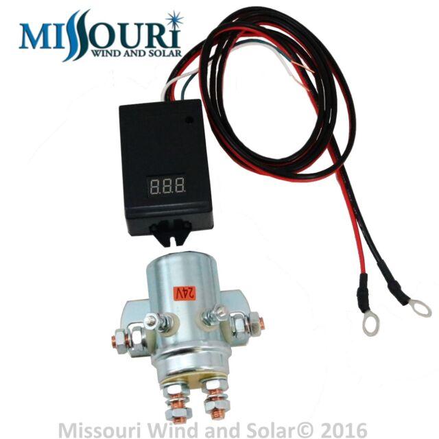 4X 24 VDC 440 Amp Regulator Controller 24 volt DC 4X 10,000 Watt power relay