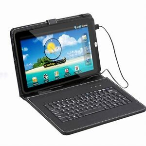 "Google Android 4.03 Tablet PC 8GB 1GB DDR3 HDMI Bundle 10"" Keyboard"