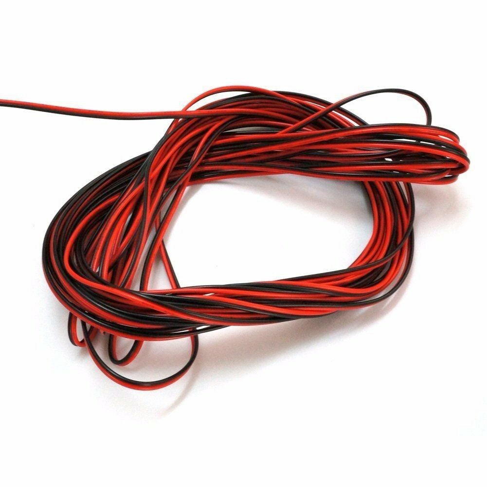 10- 20m LED Stripe Kabel 2-adrig Verlängerungskabel Anschlusskabel ...