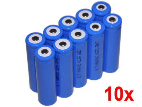 10 5000mAh 3.7V 18650 NCR Li-ion LED Flashlight Torch Rechargeable Battery Pack in Consumer Electronics, Multipurpose Batteries & Power, Rechargeable Batteries | eBay