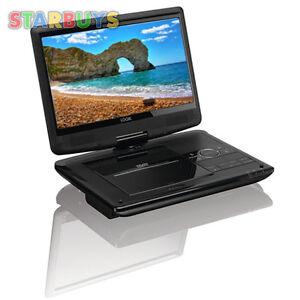 10 inch portable dvd player swivel screen in car 12v volt. Black Bedroom Furniture Sets. Home Design Ideas
