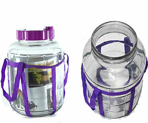 10-L-Multifunktions-Gaerballon-Gaerbehaelter-Glasballon-Einmachglaeser-Einweckglas