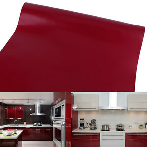 10 m x 61cm rot m belfolie deko plotterfolie klebefolie. Black Bedroom Furniture Sets. Home Design Ideas
