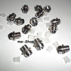 10-Metall-Fassungen-Ledschrauben-fuer-3mm-Leds-Led-Halterungen-Montagefassung