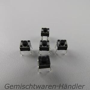 10-Mikrotaster-Mikroschalter-AUS-EIN-4-5x4-5x3-8-mm-0-05A-12V-Drucktaster-mini