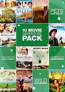 10 Movie Adventure Pack, Vol. 1 (DVD, 20...