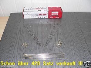 10-Speichen-Niro-2-34-mm-x-Wunschlaenge-80-310-mm-Nippel-4-5mm-verstaerkt-Fahrrad