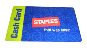 $10 Staples Gift Card