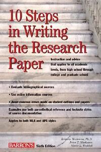 10 Steps in Writing the Research Paper b...