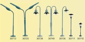 10-Stk-Kahlert-Peitschenlampe-zweiflg-Spur-N-30725-NEU-Messing-Anschlussfertig